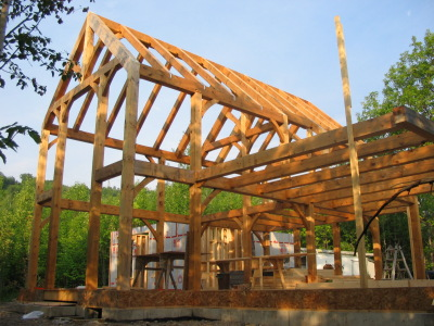 Custom timberframe home Collingwood, Blue Mountains